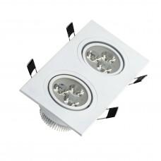 SPOT MR16 MOD. Q2 SUPER LED 6W AL ESCOVADO BRANCO 6W BR FRIA BIVOLT